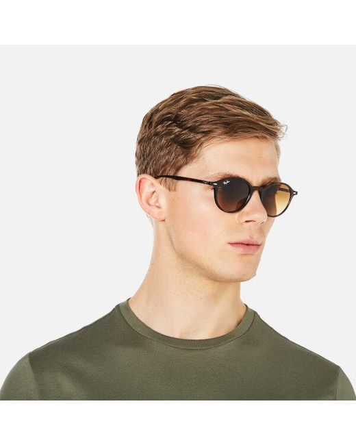 cad4085cf4 ... clearance ray ban brown rayban round classic sunglasses 49mm lyst 82d08  e66f9