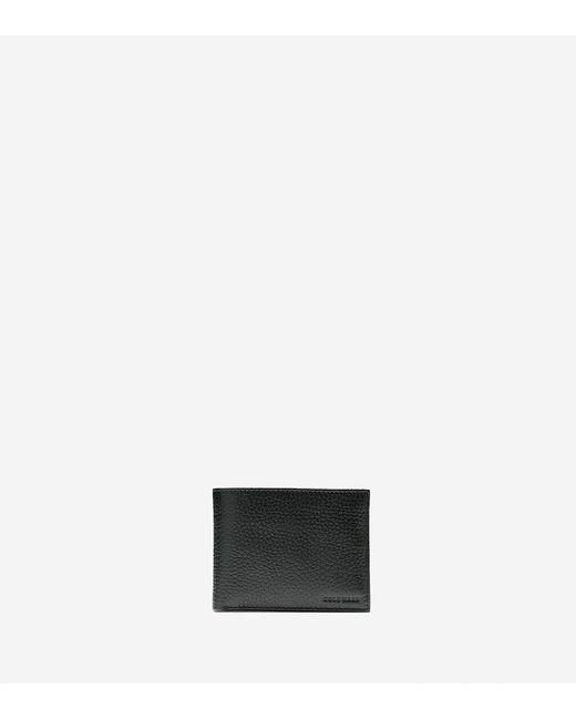 Cole Haan - Black Wayland Billfold With Passcase Wallet for Men - Lyst