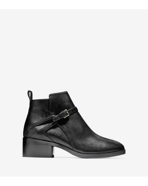 Cole Haan - Black Etta Bootie (45mm) - Lyst