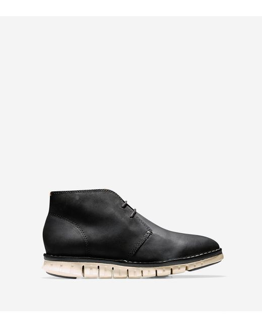 Cole Haan | Black Men's Zerøgrand Stitch Out Chukka for Men | Lyst