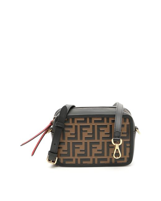 1f451979e4c Fendi - Multicolor Ff Camera Bag - Lyst ...