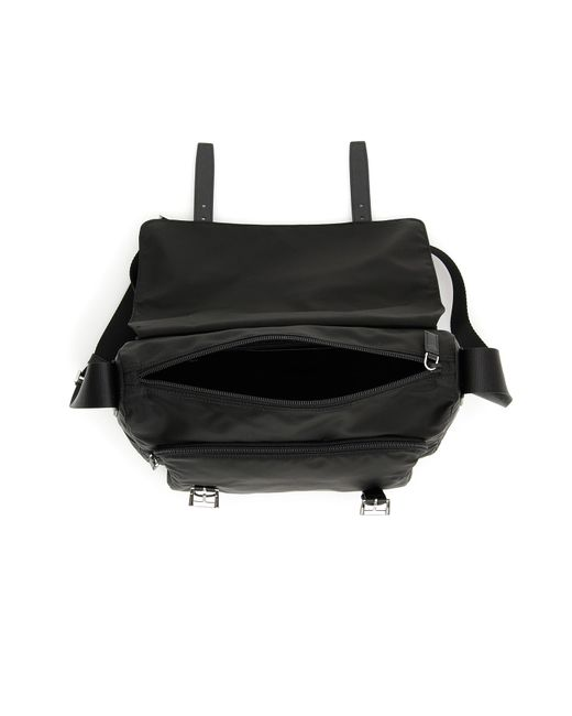 0bf2aee2b8d1 Lyst - Prada Nylon Messenger Bag in Black - Save 11%