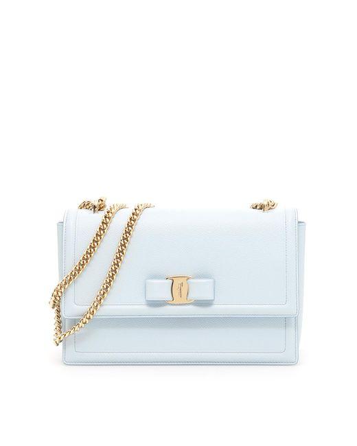 Ferragamo - Blue Ginny Crossbody Bag - Lyst