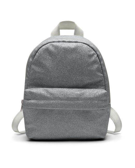 Converse - Metallic X Miley Cyrus Glitter Mini Women's Backpack (silver) - Lyst