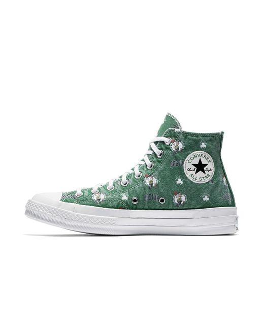 Converse - Green X Nba Chuck 70 Boston Celtics Franchise High Top Shoe for Men - Lyst