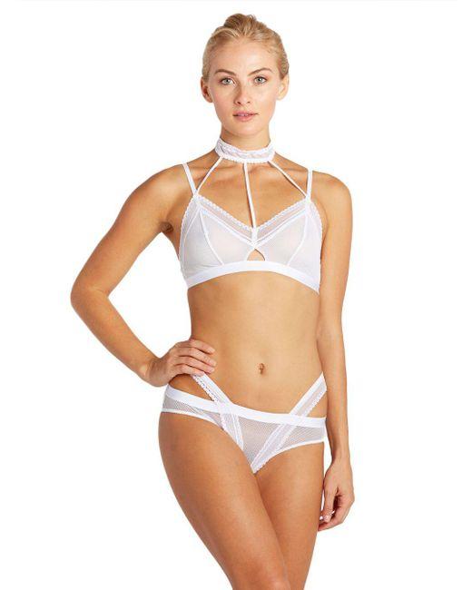 Cosabella | White Bisou Lace Strap Bikini | Lyst