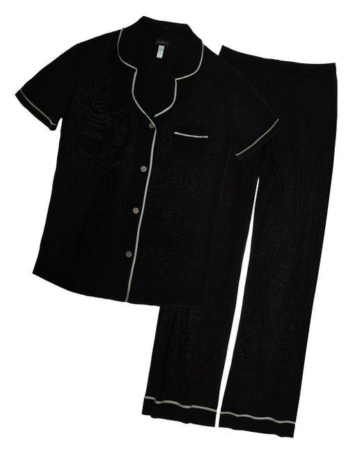 Cosabella - Black Bella Short Sleeve & Pants Pajama Set - Lyst