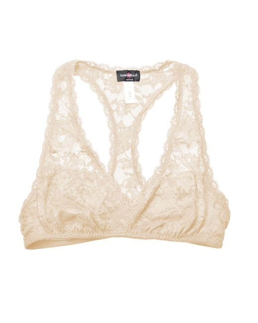 Cosabella - Pink Never Say Never Racie™ Racerback Bralette - Lyst