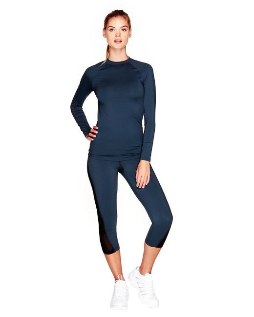 Cosabella | Blue Triathlon Long Sleeve Top | Lyst