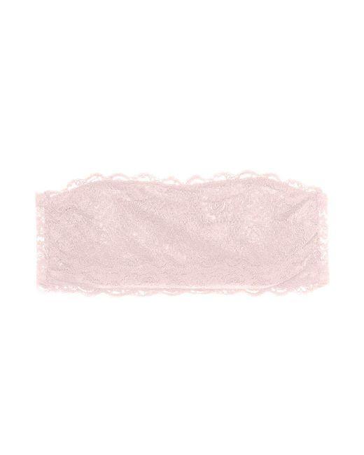 Cosabella | Pink Never Say Never Flirtie™ Bandeau Bra | Lyst