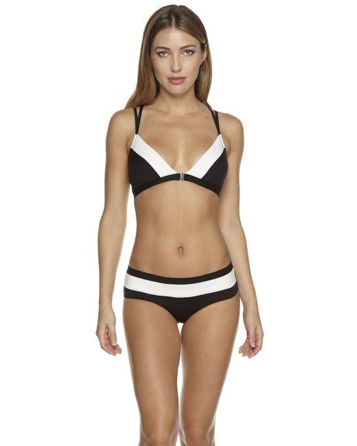 Cosabella   Black Empire Open Back Lowrider Bikini   Lyst