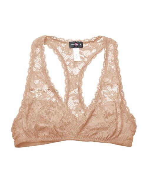 Cosabella   Pink Never Say Never Racie™ Racerback Bralette   Lyst