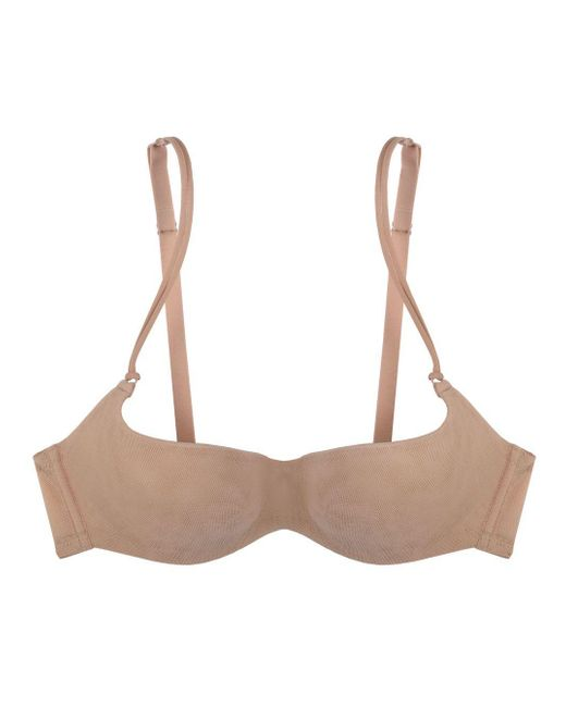 Cosabella | Pink New Soire Sheer Demi Cup Bra | Lyst