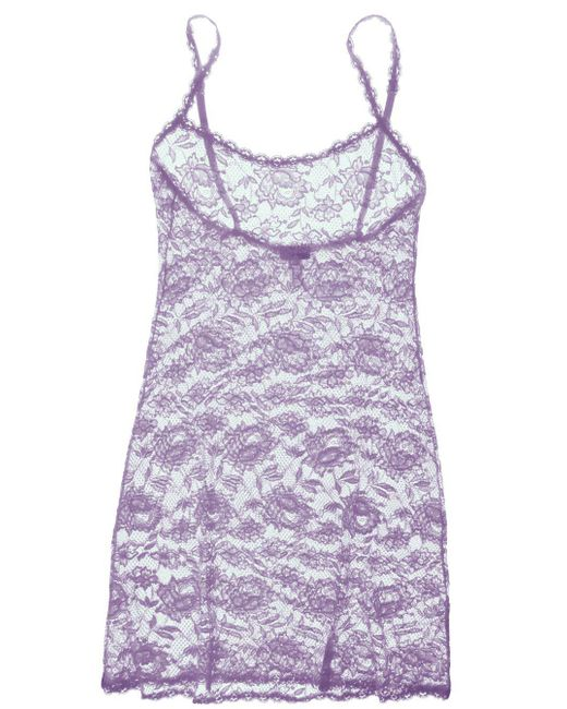 Cosabella | Purple Never Say Never Foxie™ Lace Chemise | Lyst
