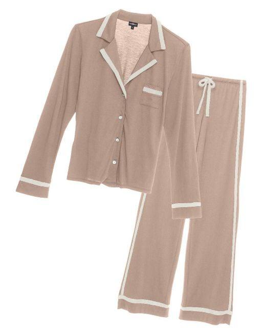 Cosabella - Multicolor Bella Long-sleeve Top And Pant Pajama Set - Lyst