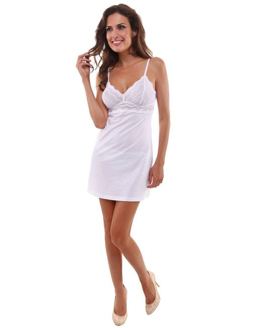 Cosabella | White Dolce Babydoll | Lyst
