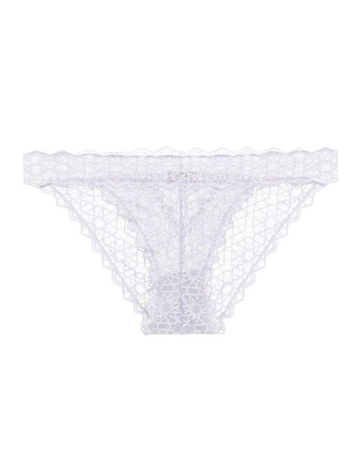 Cosabella - White Sweet Treats Star Bikini - Lyst