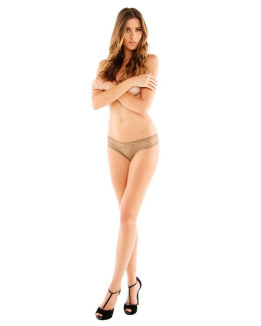 Cosabella | Gray Trentatm Lowrider Lace Thong | Lyst