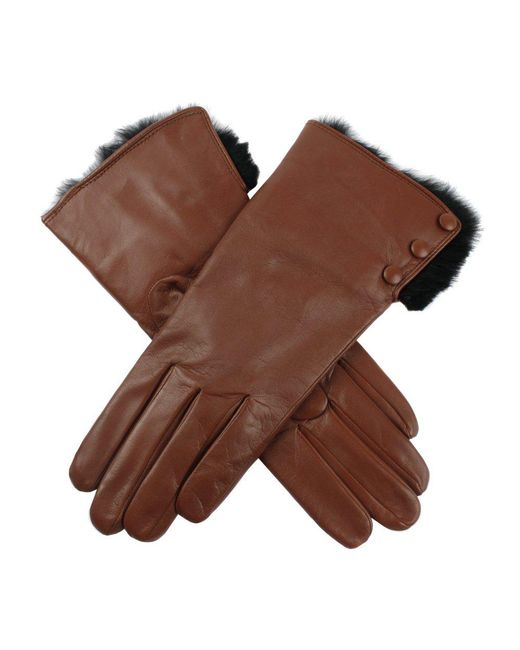 Dents - Brown Sophie Hairsheep Ladies Leather Glove - Lyst