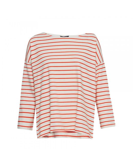 French Connection | Multicolor Spring Tim Tim Long Sleeve Round-neck Womens Top | Lyst