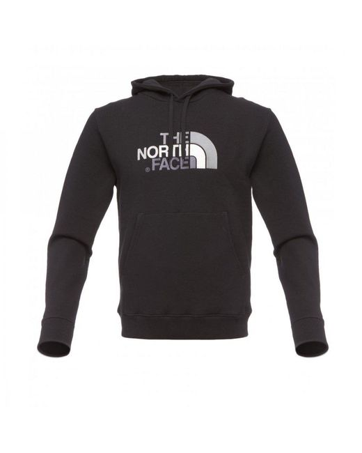 The North Face Black Drew Peak Mens Pullover Hoodie for men