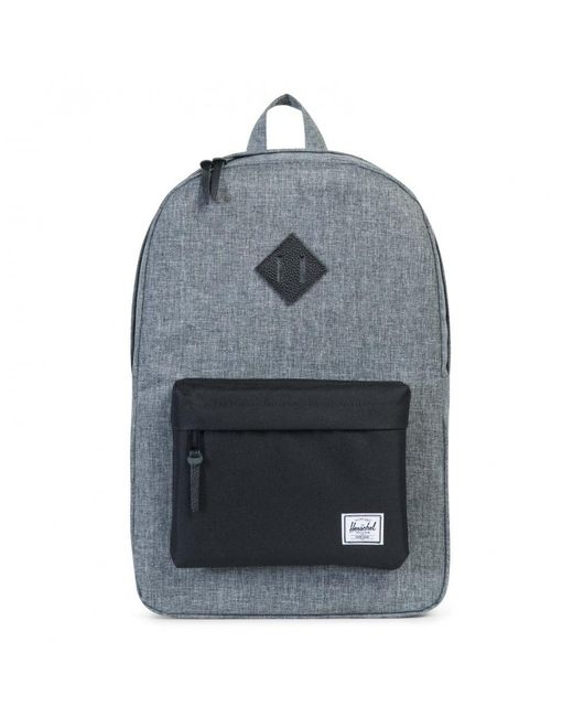 29bd9dacc07 Herschel Supply Co. - Black Heritage Backpack for Men - Lyst ...