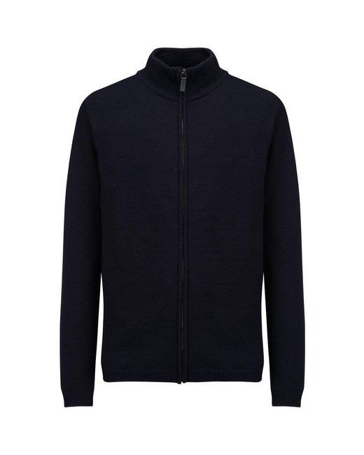 Woolrich - Blue Stretch Wool Mens Track Jacket for Men - Lyst