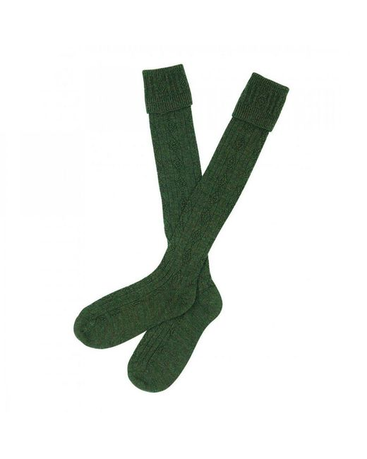 Barbour | Green Tweed Gun Stockings | Lyst