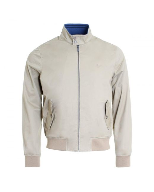 Original Penguin - Gray P55 Harrington Mens Jacket for Men - Lyst