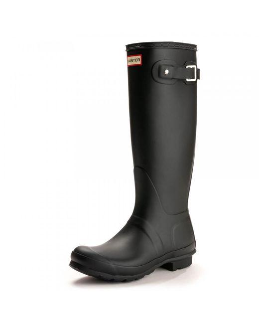 Hunter - Black Original Tall Ladies Wellington Boots - Lyst