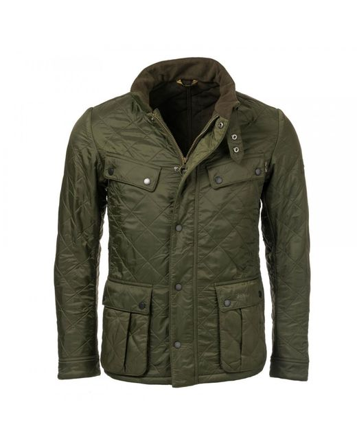 Barbour - Green Ariel Mens Polarquilt Jacket for Men - Lyst