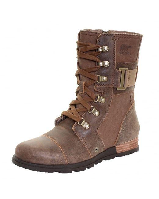 Sorel | Brown Major Carly Ladies Boot | Lyst