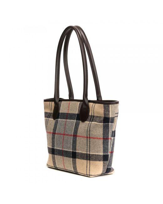 Barbour Multicolor Dee Tartan Las Handbag Lyst