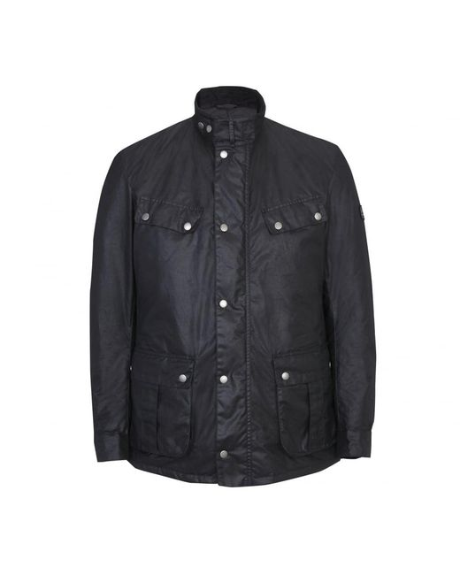 Barbour - Black Duke Wax Mens Jacket for Men - Lyst