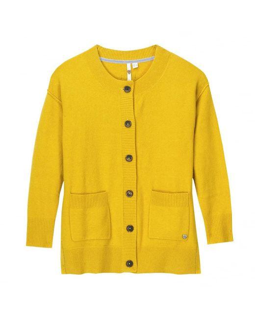 White Stuff   Yellow Camomile Womens Cardigan   Lyst