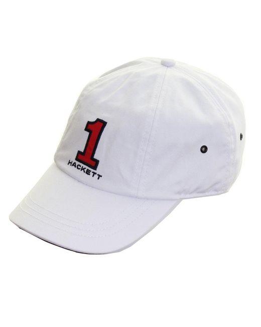Hackett - White Number Mens Cap (aw16) for Men - Lyst