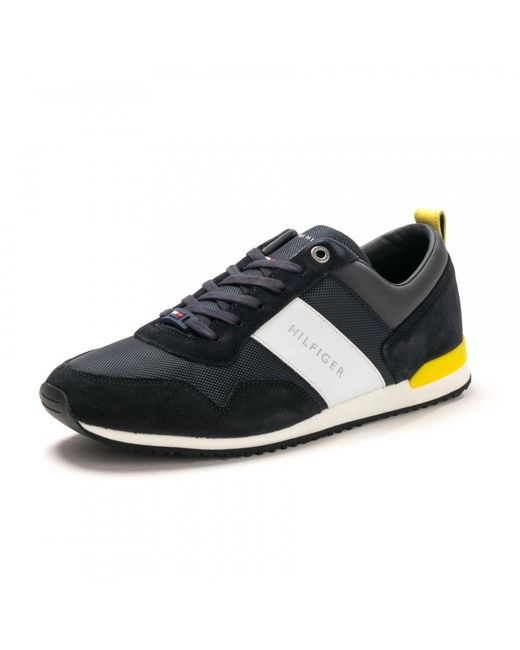 1d7d98fd80c9 ... Trainers  Special Offer Tommy Hilfiger Harlow 1E Canvas Shoes (Mens)  Monaco  Lyst. Ireland ...