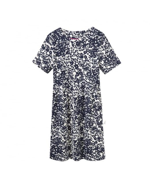 Joules - Blue Carly Jersey Printed Dress (v) - Lyst