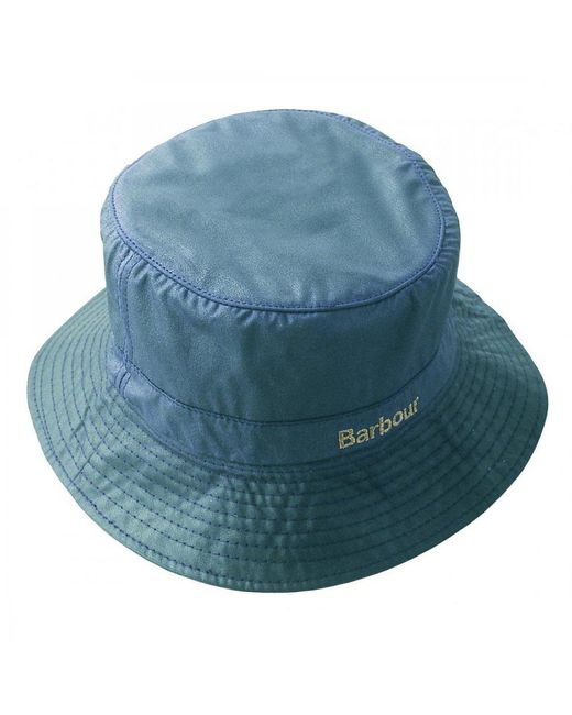 Barbour - Blue Wax Sports Hat - Lyst