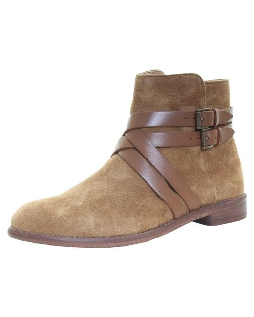 H by Hudson - Brown Atlas Suede Womens Boot - Lyst