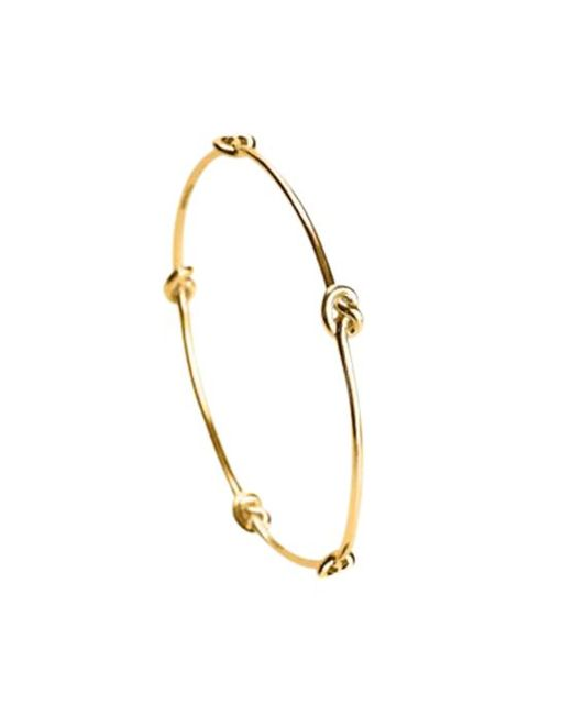 Avanessi - Yellow Knot Bracelet - Lyst