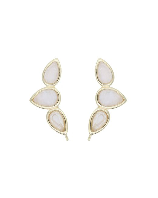 Rachael Ryen | Metallic Teardrop Wing Pins - Moonstone | Lyst