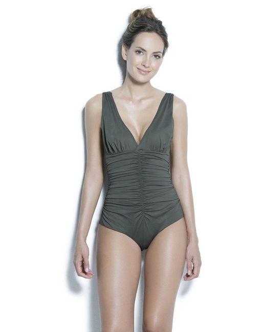 Estivo Swimwear   Multicolor Removable Cups Tummy Control & Trim /sld/   Lyst