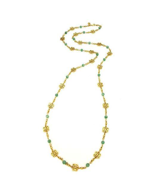 Ben-Amun | Metallic Silk Road Jasmine Chain Necklace | Lyst