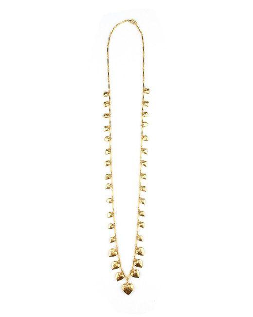 Elizabeth Cole   Metallic Adena Necklace   Lyst