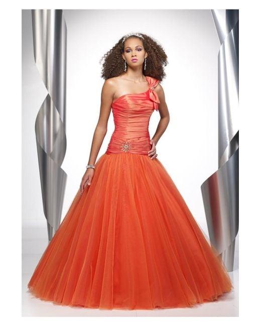 Alyce Paris - Dress In Orange - Lyst