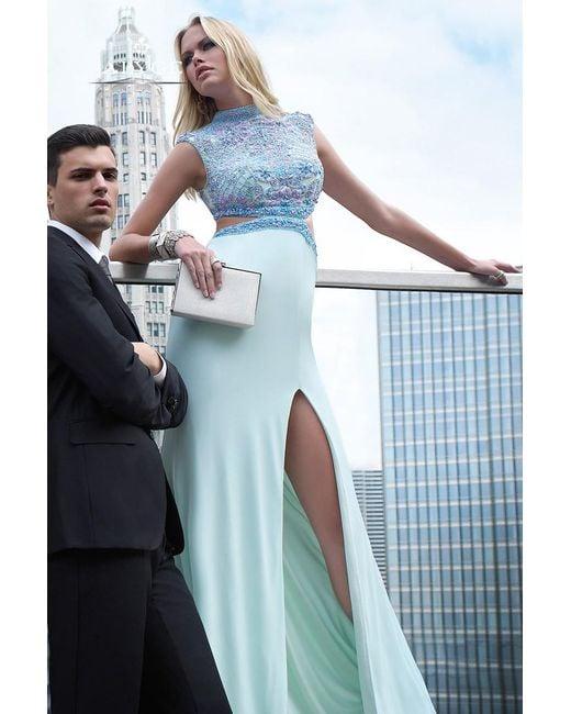 Alyce Paris - Prom Dress In Light Blue Violet - Lyst
