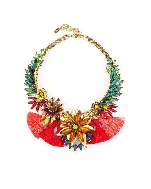Elizabeth Cole - Multicolor Samoa Necklace - Lyst