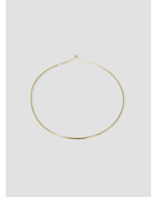 Helena Rohner | Metallic 18k Gold Hoop Single Earring | Lyst