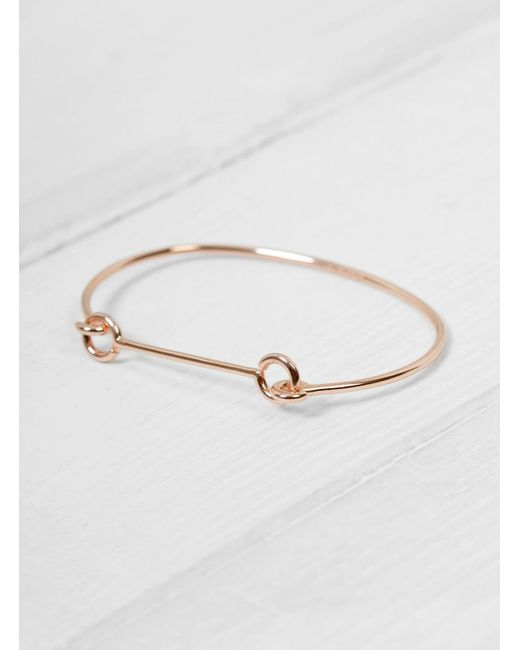 Maria Black - Metallic Bar Bangle - Lyst